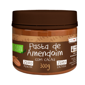 Pasta-de-Amendoim-com-Cacau-Eat-Clean-300g