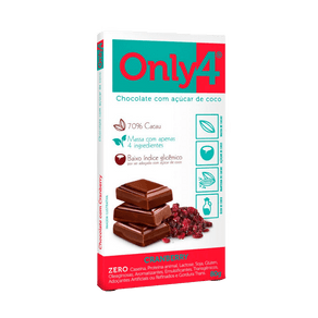 Chocolate-70--De-Cacau-com-Cramberry-80g-Only4