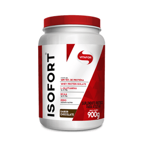 Whey-Protein-Isolate-Isofort-Chocolate-900g-Vitafor