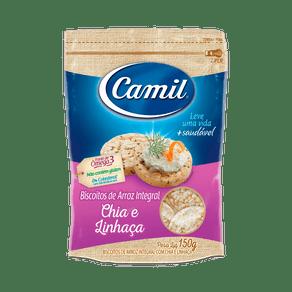 Mini-Biscoito-de-Arroz-Integral-Com-Chia-e-Linhaca-150g-Camil
