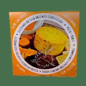Queijo-Fresco-Curcuma-Organica-com-Kummel-Vegano-150g-Ecozy