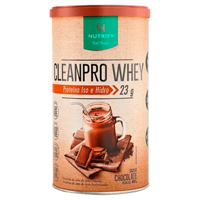 CleanPro-Whey-Chocolate-450g-Nutrify