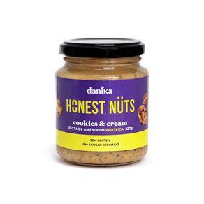 Pasta-de-Amendoim-Cookies-Cream-Proteica-Honest-Nuts-220g-Danika