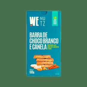 Chocolate-Branco-Vegano-com-Canela-Pasta-de-Castanha-e-Coco-100g-We-Nutz