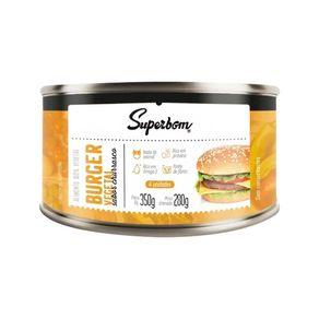 Hamburguer-Vegetal-sabor-Churrasco-Lata-280g-Superbom