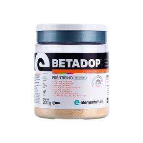 Pre-Treino-Betadop-SaborTutti-Frutti-300g-Elemento-Puro-