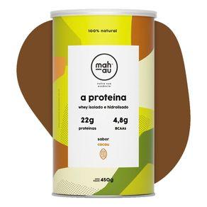Whey-Protein-Isolado-e-Hidrolisado-sabor-Cacau-450g-Mahau