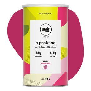 Whey-Protein-Isolado-e-Hidrolisado-sabor-Framboesa-450g-Mahau