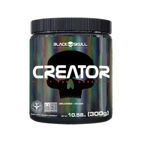 Creator-Creatina-Monohidratada-300g-Black-Skull