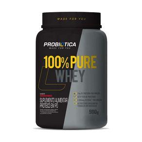100--Pure-Whey-Morango-900g-Probiotica