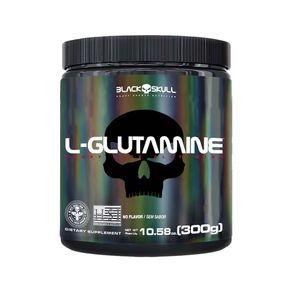 L-Glutamine-300g-Black-Skull-