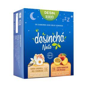 Desincha-Noite-Sabores--Maracuja-com-Pessego---Camomila-Mel-e-Baunilha-30-Saches-