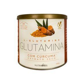 Glutamina-com-Curcuma-Extrato-Seco-150g-Nutrawell