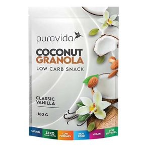 Coconut-Granola-Low-Carb-Snack-Classic-Vanilla-180g-PuraVida